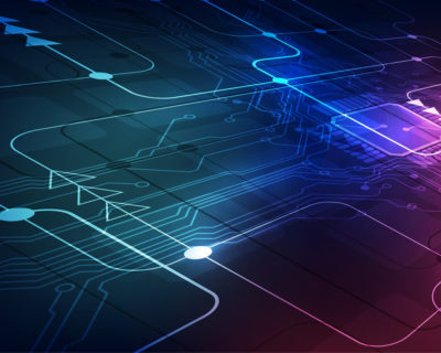 Circuit informatique illustrant l'intelligence artificielle